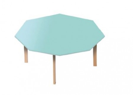 Table octogonale diamètre 120 T1-T2-T3-T4-T6 Ric-Hochet