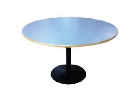 Table diamètre 120 avec piétement en fonte