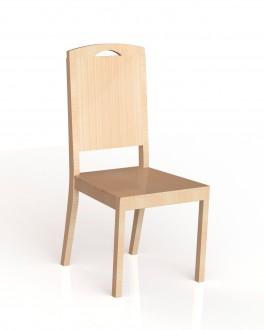 Chaise 4 pieds bois Lylou