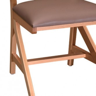 Chaise appui sur table Lylou