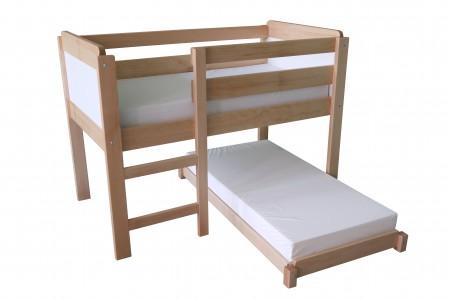 lit surélevé marmotte et sa couchette amovible