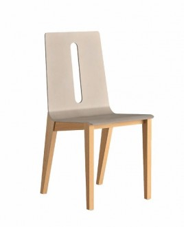 Chaise 4 pieds Wood