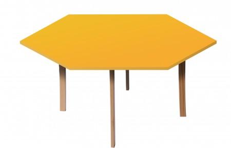 Table hexagonale diamètre 160 T6 Ric-Hochet