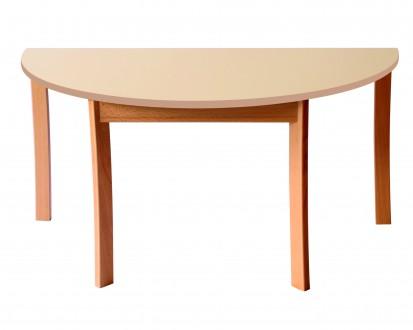 Table demi-ronde diamètre 120 T1-T2-T3-T4-T6 Ric-Hochet