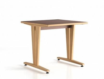table 120x80 dégagement latéral Wood