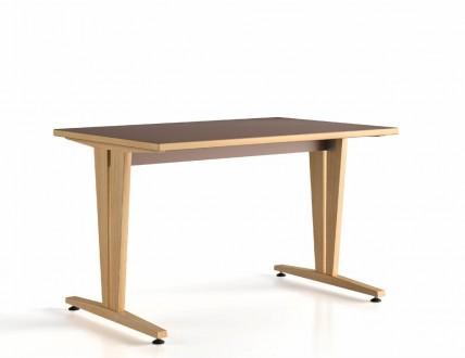 table 140x80 dégagement latéral Wood