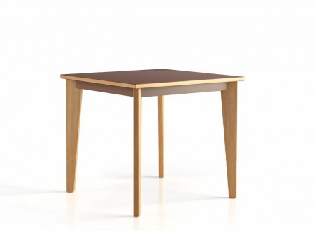 table 80x80 4 pieds Wood