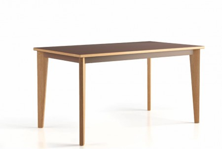 table 180x80  4 pieds Wood