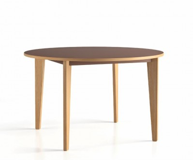 table D120 4 pieds Wood
