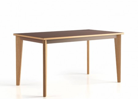 table 140x80 4 pieds Wood