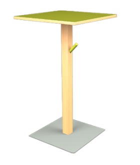 Table snack Wood