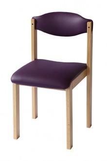 Chaise garnie 4 pieds Dreux